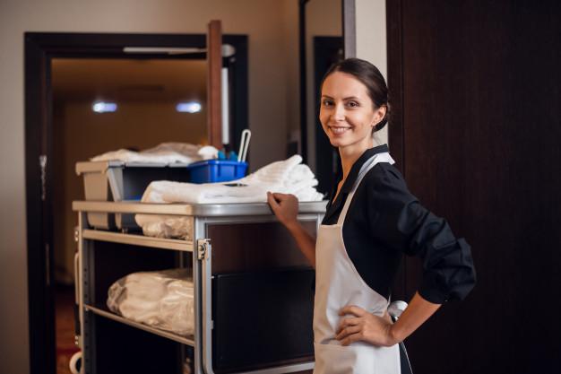 Rengøring vikar hotel